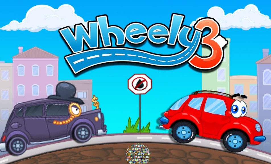 playing wheelie