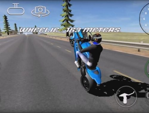 Use The 3D Wheelie Games